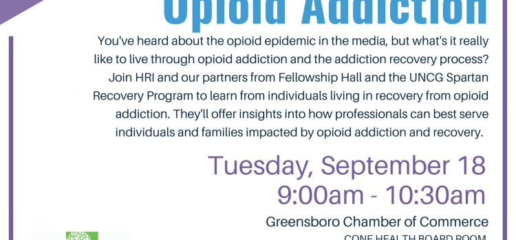 HRI Lived Experiences Professional Training: Recovery from Opioid Addiction