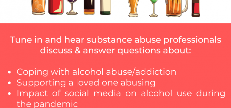6.29.20 | Webinar: When Alcohol Use Becomes Abuse
