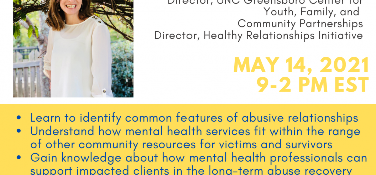 5.14.21 | Responding to Family Violence: Best Practices for Mental Health Professionals